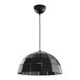 Hängeleuchte max. 60 Watt 'Sylta' - Schwarz, MODERN, Metall (40/120cm) - Bessagi Home