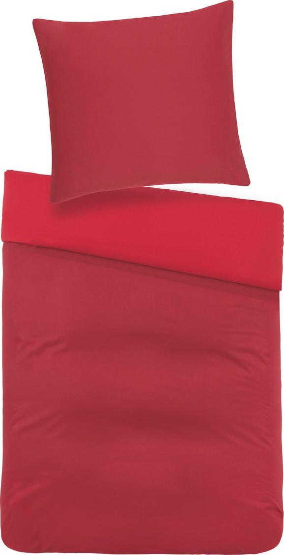 Bettwäsche Belinda ca. 135x200cm - Rot/Dunkelrot, Textil (135/200cm) - MÖMAX modern living