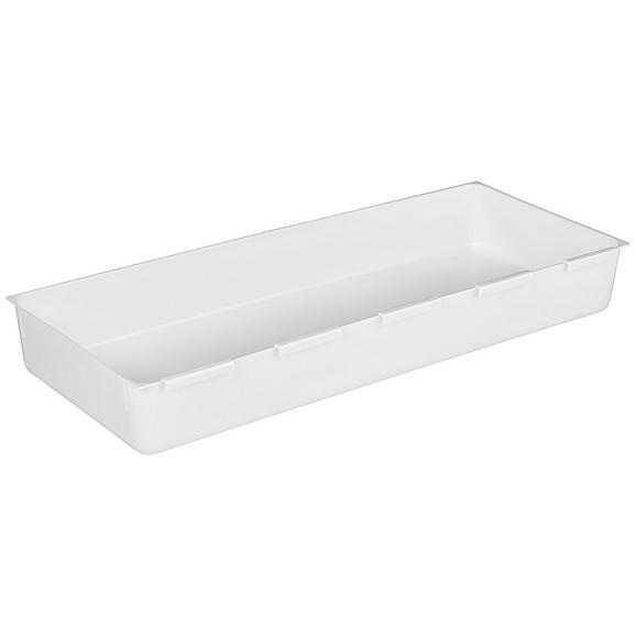 Besteckeinsatz Wanda Weiß - Weiß, Kunststoff (14,9/37,5cm)
