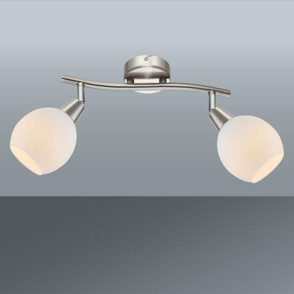 Strahler Samuel, max. 2x4 Watt - KONVENTIONELL, Glas/Metall (28/9,7cm) - Mömax modern living
