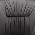 Armlehnstuhl in Grau 'Vani' - Schwarz/Grau, MODERN, Textil/Metall (61/81/51cm) - Bessagi Home