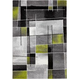 Webteppich Ibiza 120x170cm - Grün, KONVENTIONELL, Textil (120/170cm) - Mömax modern living