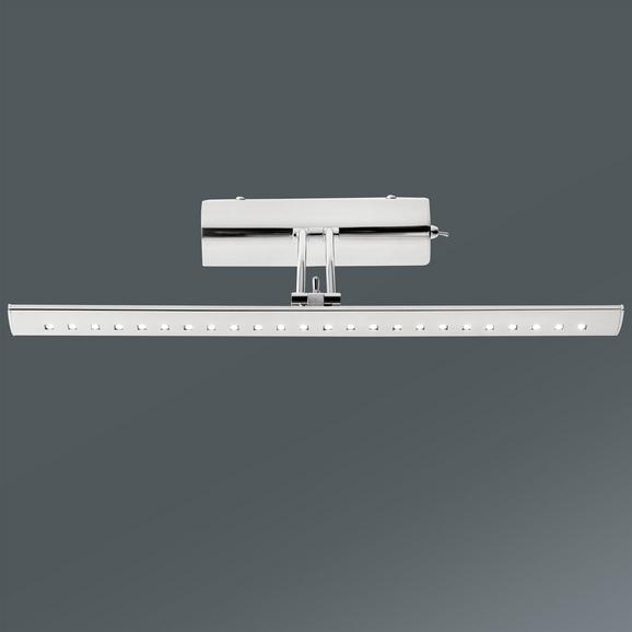 LED-Wandleuchte Picture Max. 1x3 Watt Led - Chromfarben, Kunststoff/Metall (43/18/16cm)