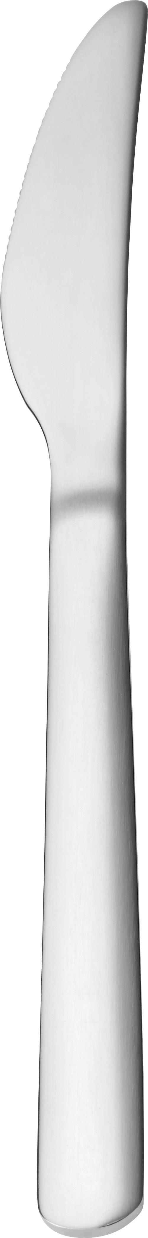 Messer Demi Edelstahl - Edelstahlfarben, KONVENTIONELL, Metall (21cm) - Mömax modern living