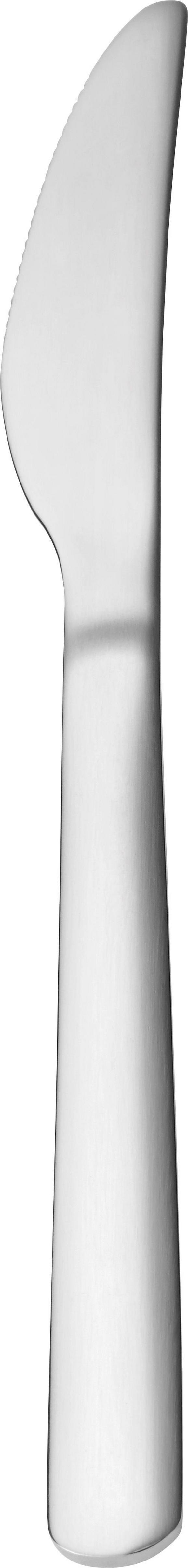 Messer Demi in Edelstahl - Edelstahlfarben, KONVENTIONELL, Metall (21cm) - Mömax modern living