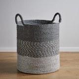 Korb Shannon - Silberfarben, MODERN, Kunststoff (41/47cm)