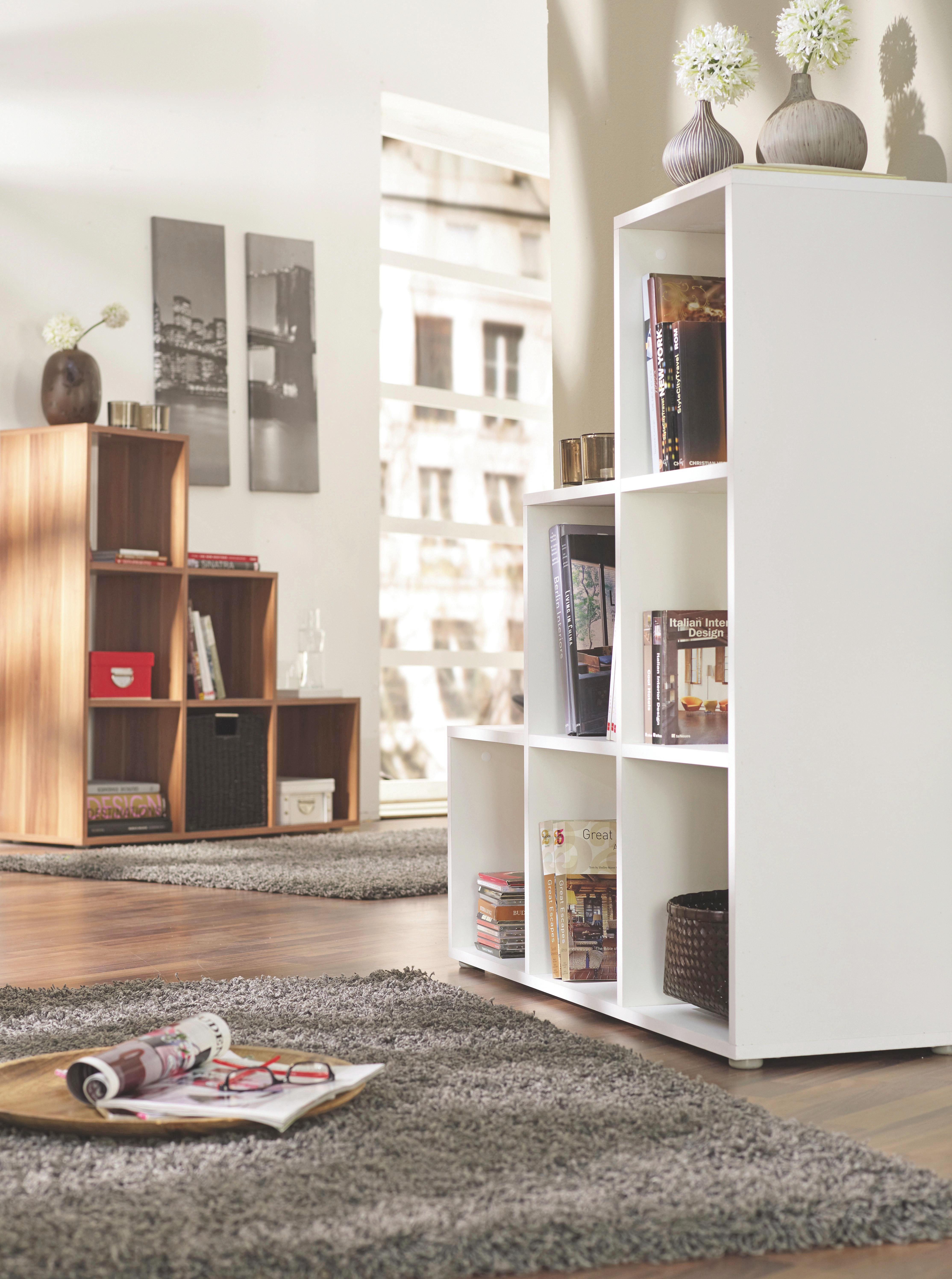 Regal in Eiche - Sonoma Eiche, MODERN, Holzwerkstoff (112/114/35cm) - MÖMAX modern living