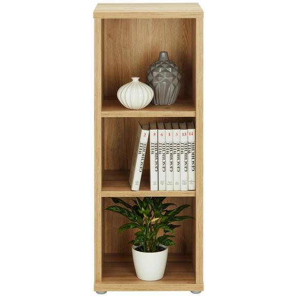 Regal Eichefarben - Eichefarben, MODERN, Holzwerkstoff/Kunststoff (43/116/40cm)