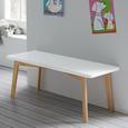 Kindersitzbank Tibby - Weiß, MODERN, Holz (80/30/30cm) - Modern Living