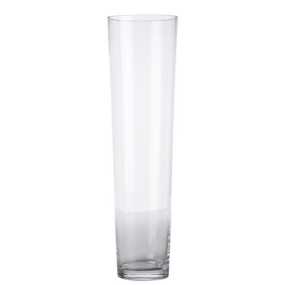 Vase Andrea aus Glas - Klar, MODERN, Glas (19/70cm) - Mömax modern living