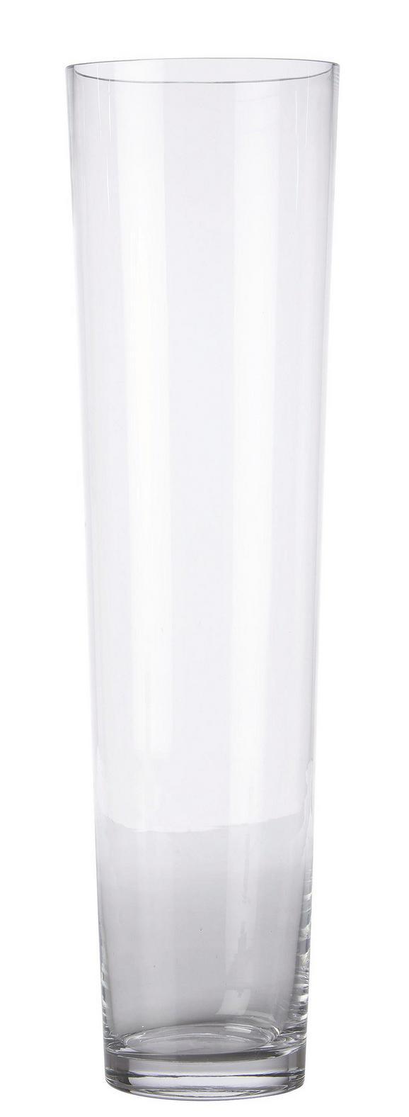Váza Andrea - Átlátszó, modern, Üveg (19/70cm) - Mömax modern living
