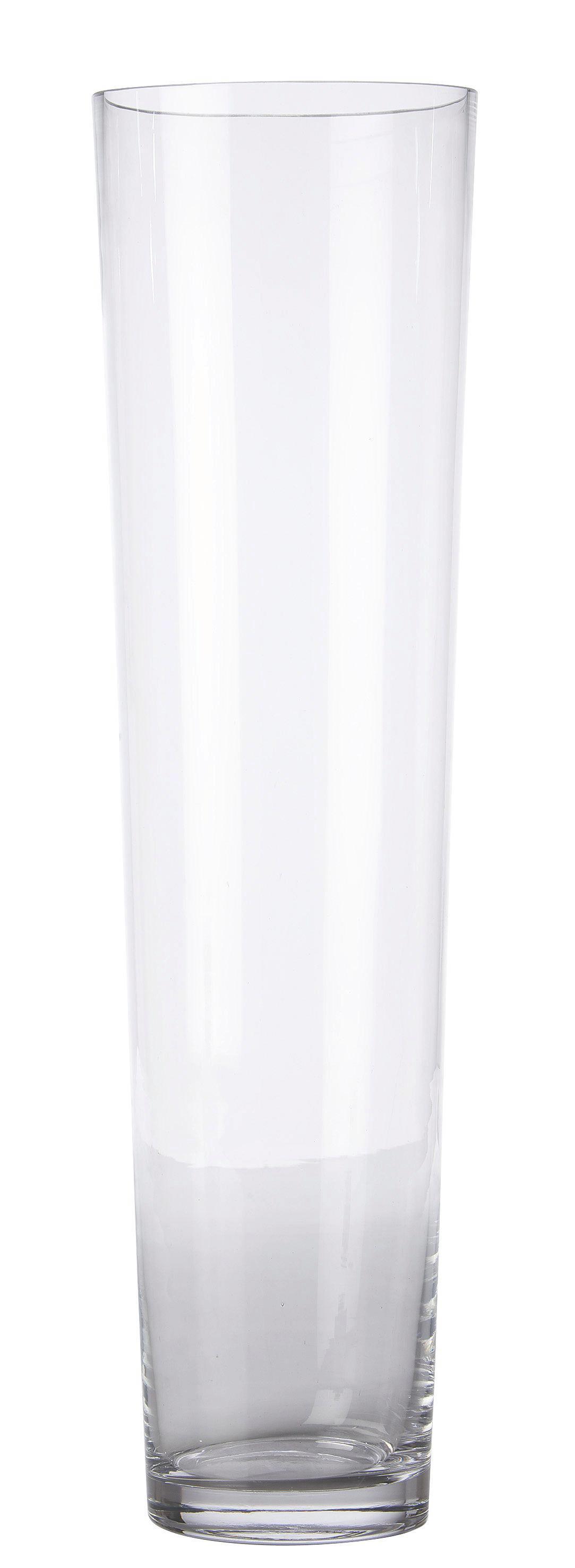 Váza Andrea - tiszta, modern, üveg (19/70cm) - MÖMAX modern living