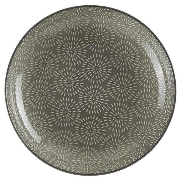 Suppenteller Nina in Grau Ø 21cm - Grau, Keramik (21cm) - Mömax modern living