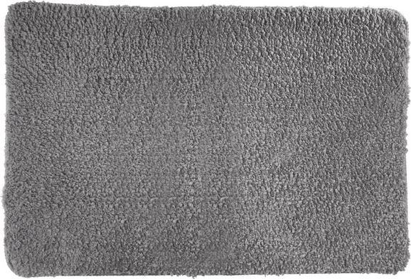 Badematte Christina Silbergrau - Grau, Textil (60/90cm) - MÖMAX modern living