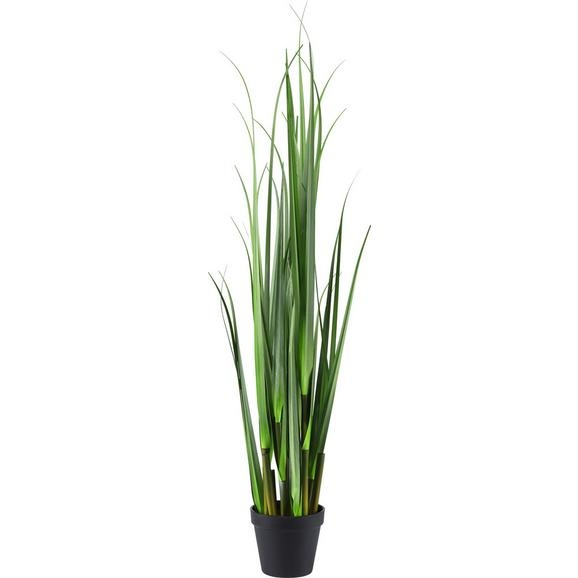 Kunstpflanze Mica in Grün - Grün, Kunststoff (90cm) - Mömax modern living