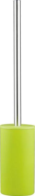 WC-Bürste Melanie in Grün - Grün, KONVENTIONELL, Kunststoff/Metall (8/45cm) - Mömax modern living