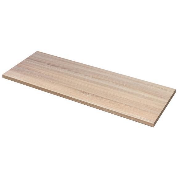 Arbeitsplatte Eichefarben - Eichefarben, Holzwerkstoff (210/60cm) - FlexWell.ai