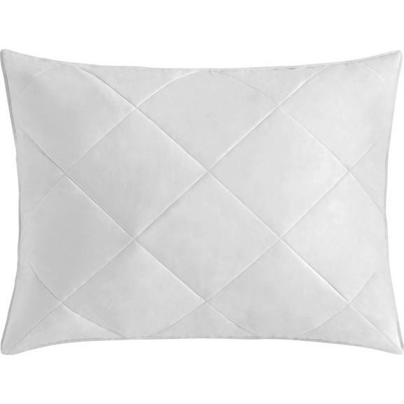 Pernă Steffi - alb, textil (70/90cm) - Modern Living