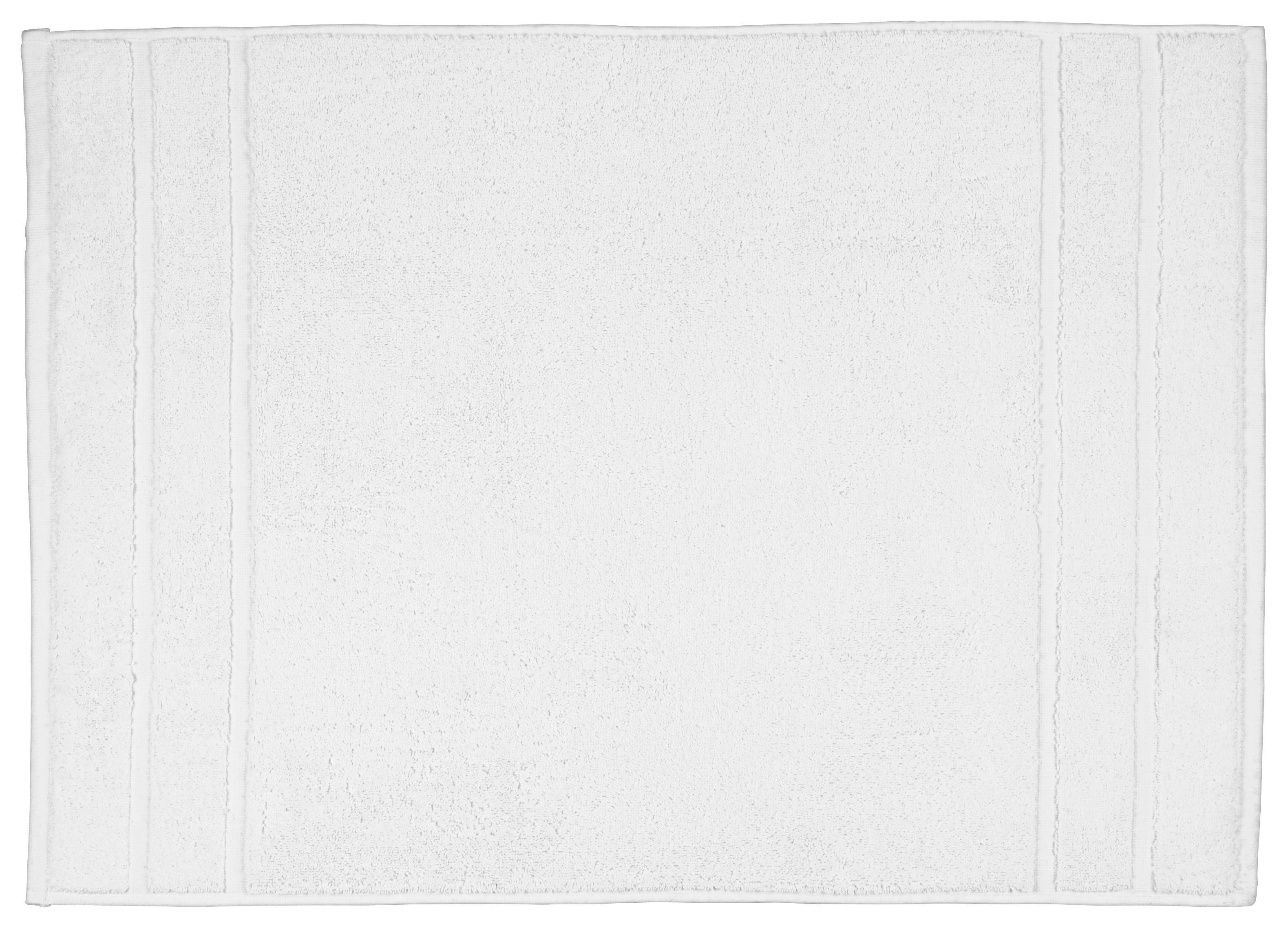 Badematte Melanie ca. 50x70cm - Weiß, Textil (50/70cm) - MÖMAX modern living