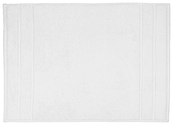 Badematte Melanie Weiß - Weiß, Textil (50/70cm) - Mömax modern living