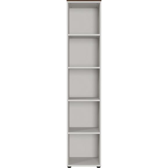 Regal in Kaschmir/Nussbaumfarben - Kaschmir/Nussbaumfarben, KONVENTIONELL, Holzwerkstoff/Kunststoff (41/197/40cm) - Mömax modern living