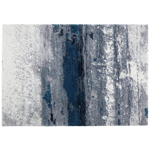 Webteppich Topas, ca. 133x190cm - Blau/Hellgrau, MODERN (133/190cm)