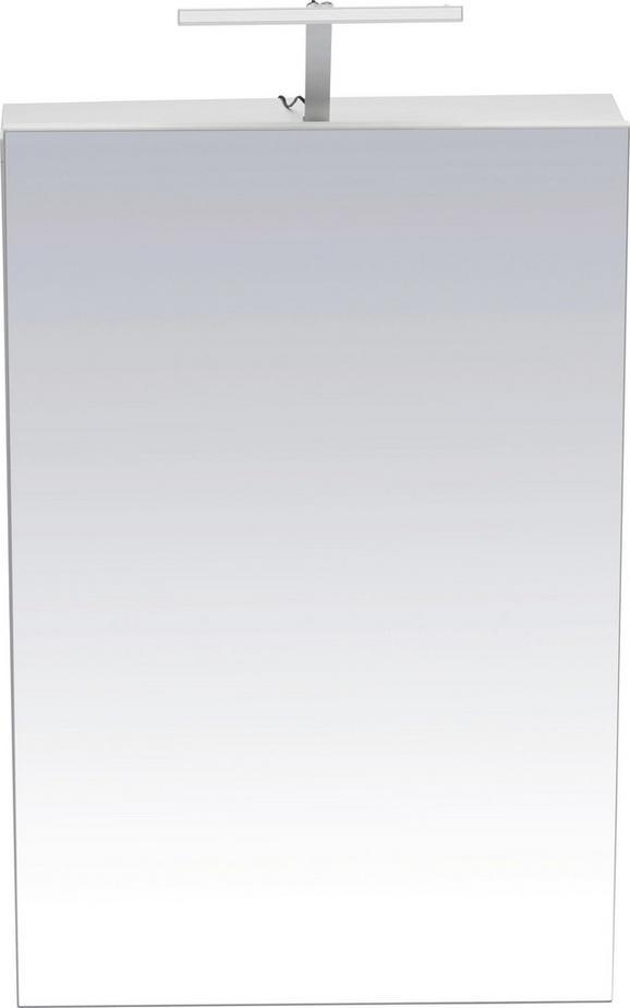 Spiegelschrank ca. 50x75x16cm inkl. Led - Weiß, MODERN, Holz (50/75/16cm) - MÖMAX modern living