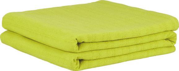 Überwurf Solid One, ca. 240x210cm - Grün, Textil (240/210cm) - Based