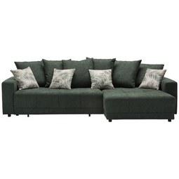 Sedežna Garnitura Summerfield - zelena/bela, Trendi, tekstil (285/183cm) - Mömax modern living