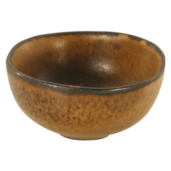 Schale Sahara Ø ca. 11,5cm - Braun, LIFESTYLE, Keramik (11,5/11,5/5cm) - Zandiara