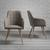 Stuhl Jule - Beige/Buchefarben, MODERN, Holz/Textil (57/92,5/46cm) - Bessagi Home