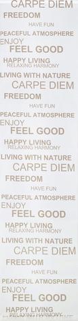 Flächenvorhang Feel Good, ca. 60x245cm - Weiß, Textil (60/245cm) - Mömax modern living