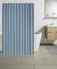 Duschvorhang Uni Aqua 180x200cm - Weiß, Textil (180/200cm) - Mömax modern living