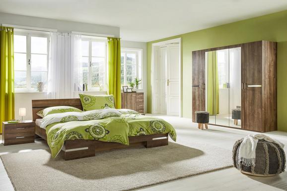 Schlafzimmer 4-teilig Schlammfarben - Schlammfarben, MODERN, Holzwerkstoff (225/210/58cm) - Based