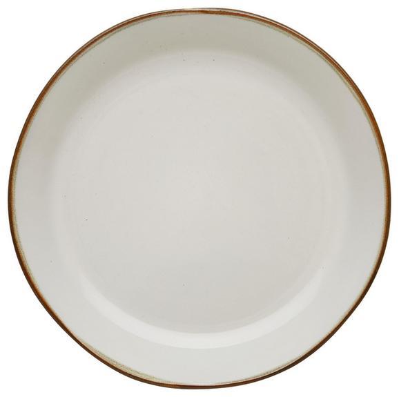 Dessertteller Aneta aus Keramik Ø ca. 20,8cm - Weiß, LIFESTYLE, Keramik (20,8cm) - Mömax modern living