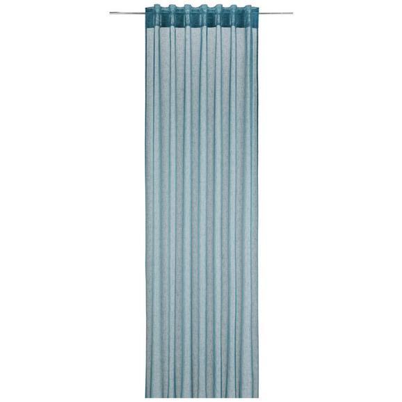 Končana Zavesa Mila 2-delni Set - petrolej, Konvencionalno, tekstil (140/245cm) - Mömax modern living