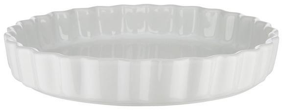 Auflaufform Pura in Weiß aus Keramik - Weiß, MODERN, Keramik (27/4,3/27cm)