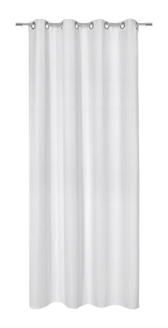 Készfüggöny Ronni - fehér, konvencionális, textil (140/245cm) - MÖMAX modern living
