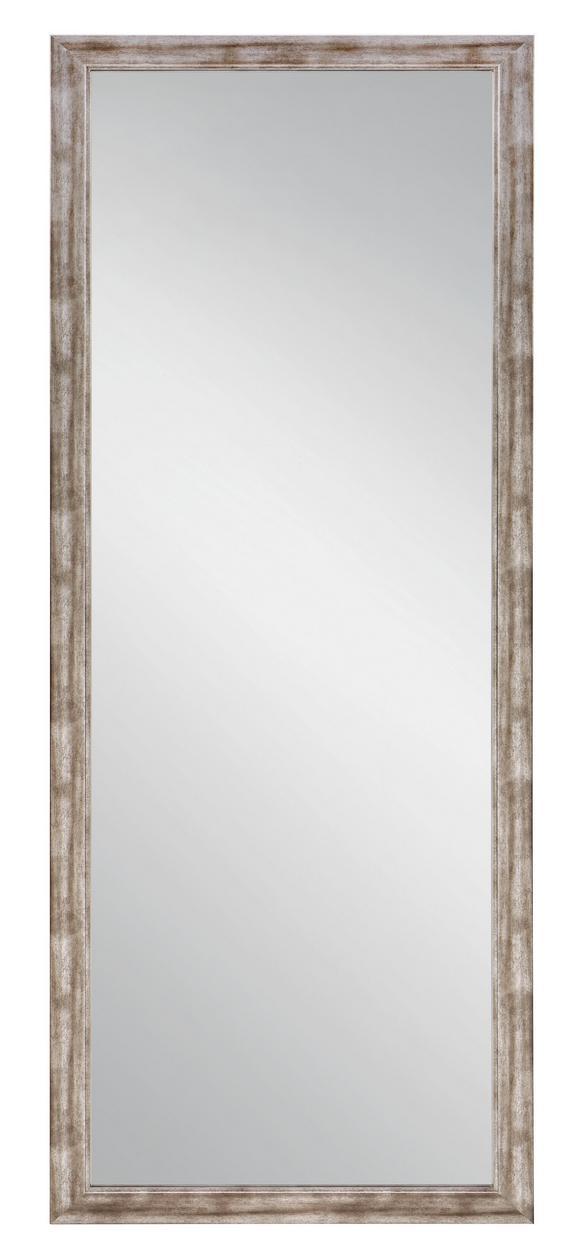 Fali Tükör Metallic - nikkel színű/ezüst színű, faanyagok (66/186cm)