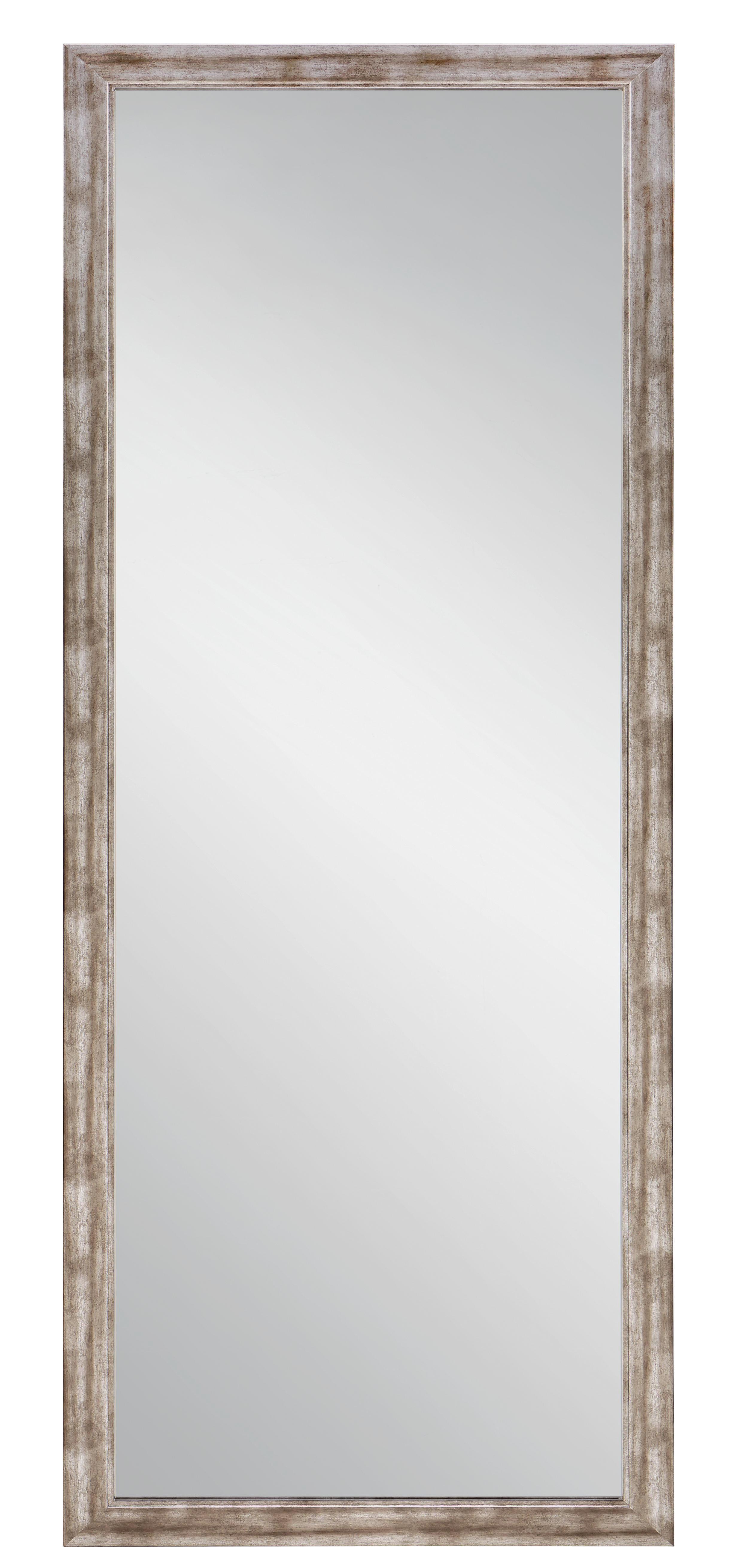 Wandspiegel ca. 66x186x2cm - Silberfarben/Nickelfarben, Holzwerkstoff (66/186cm) - MÖMAX modern living