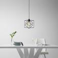 Viseča Svetilka Fano - črna, Moderno, kovina/umetna masa (20/20/125cm) - Mömax modern living