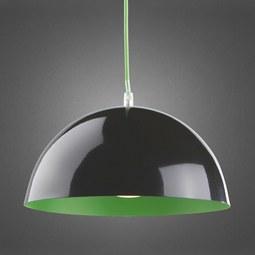 Hängeleuchte Bruno - Schwarz/Grün, MODERN, Metall (30/20cm) - MÖMAX modern living