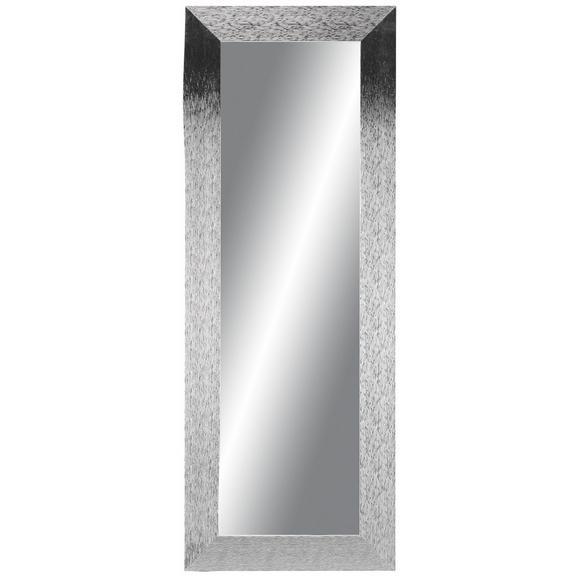 Wandspiegel Silberfarben 60x160cm - Silberfarben, MODERN, Glas/Holzwerkstoff (60/160cm)