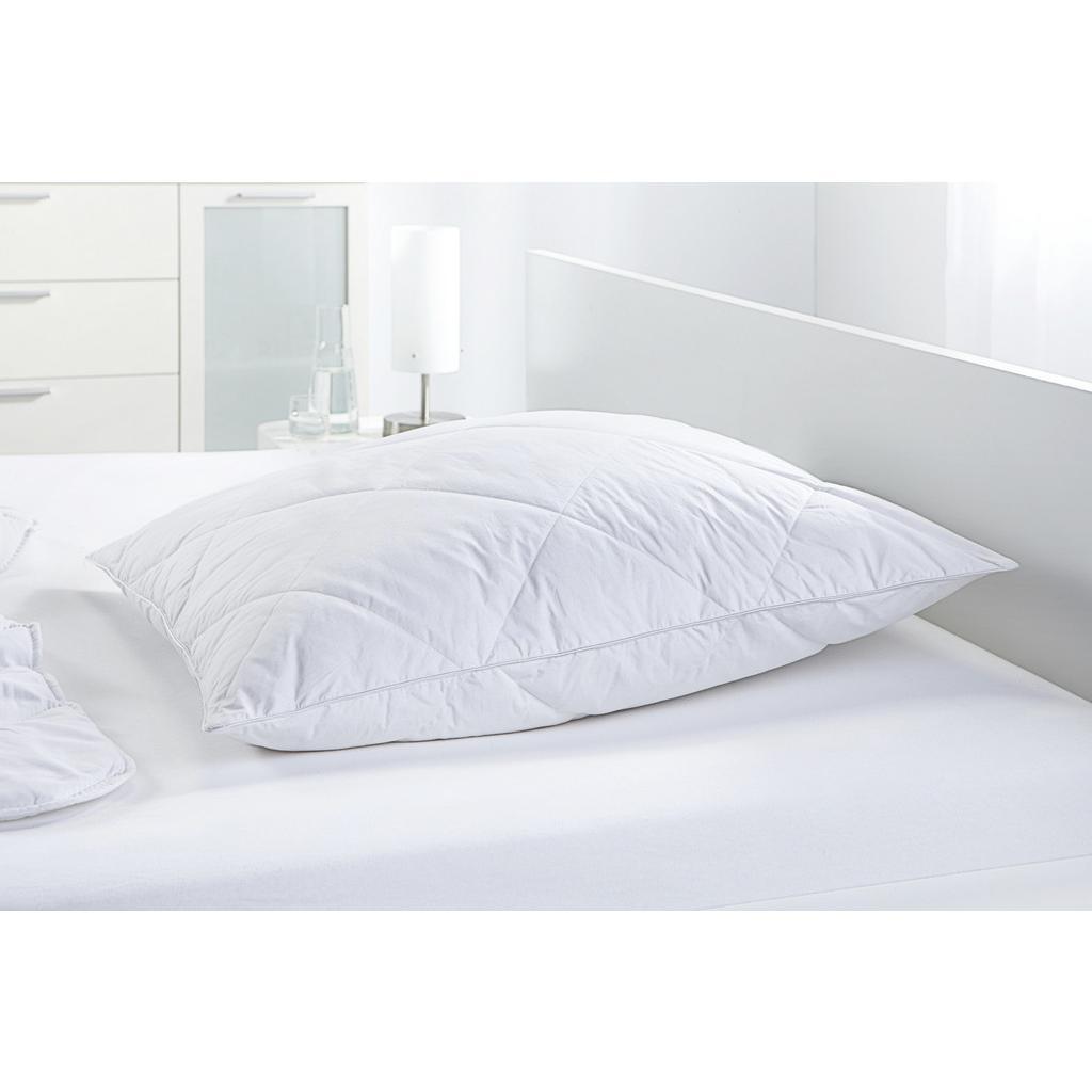 Kopfkissen Steffi in Weiß, ca. 80x80cm