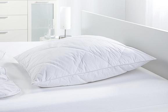 Kopfkissen Steffi in Weiß, ca. 80x80cm - Weiß, Textil (80/80cm) - MÖMAX modern living
