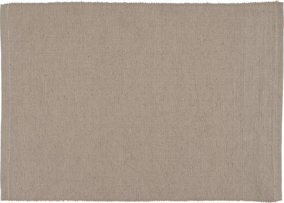 Asztali Szett Maren - Szürke, Textil (33/45cm) - Based