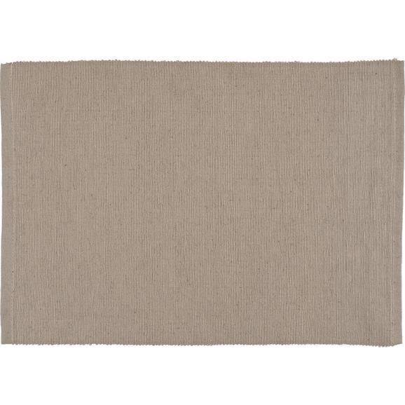 Tischset Maren Stein - Grau, Textil (33/45cm) - Based
