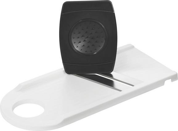 Reszelő Nadja - fekete/fehér, konvencionális, műanyag/fém (29cm)