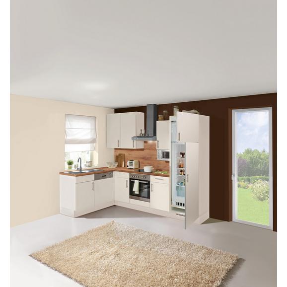 Kuhinjski Blok Santiago - bela/hrast, Trendi, leseni material (175/275cm) - Vertico
