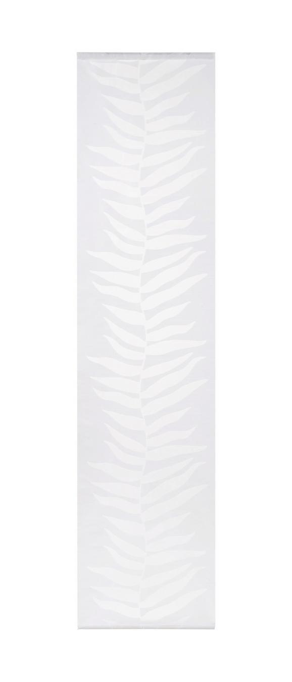 Flächenvorhang Joe Weiß 60x245cm - Weiß, MODERN, Textil (60/245cm) - Mömax modern living